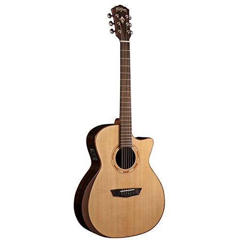 washburn comfort series usm wcg20sce acoustic electric guitar natural guitar affinity. Black Bedroom Furniture Sets. Home Design Ideas