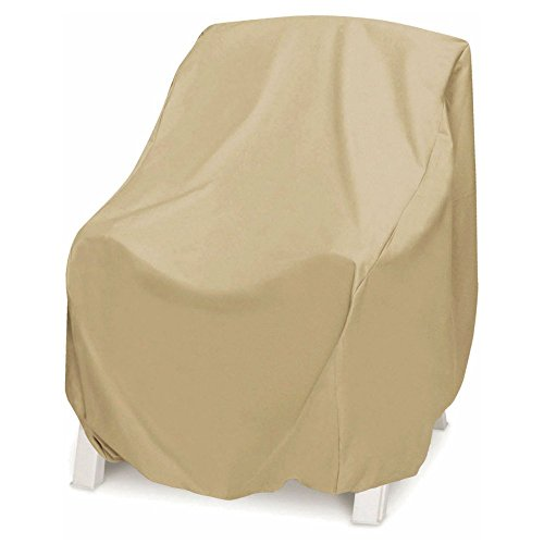 Smart Living 2D-PF38365 Chair Cover With Level 4 UV Protection, Oversize, Khaki