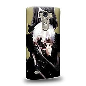Case88 Premium Designs Tokyo Ghoul Kaneki Ken Carcasa/Funda dura para el LG G3