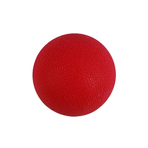 Massage Lacrosse Balls - Myofascial, Muscle Knots and Trigger Point Body Pain Release (Red)