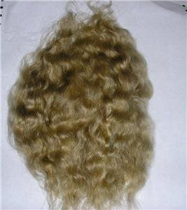 Doll Hair Reborn Mohair - Wavy - Half Ounce (Dark - Blonde Mohair