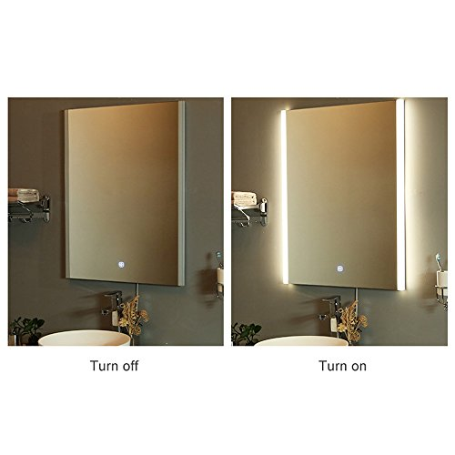 LED-Wall-Mounted-Lighted-Vanity-Bathroom-Slivered-Mirror-with-Touch-Button