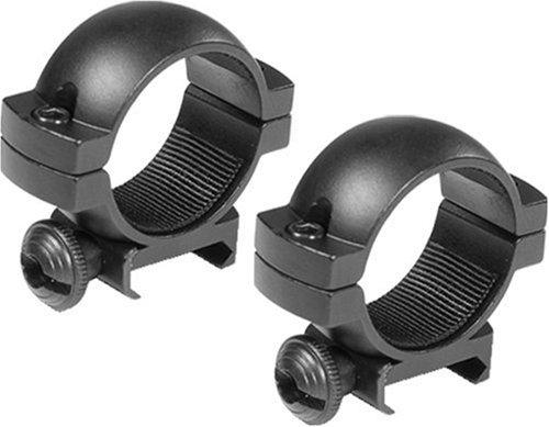 BARSKA 1-Inch Low Weaver Style See-through Riflescope Ring
