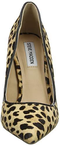 969 Chiusa Madden Heel Col l Steve Donna leopard Scarpe Punta Tacco Multicolore Daisie 1nwxq8fU7