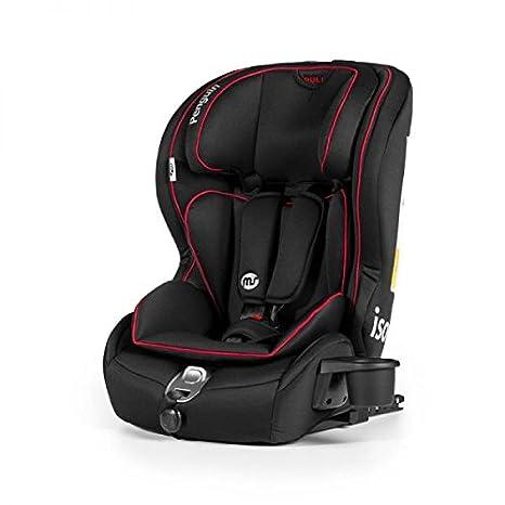Innovaciones MS 821 - Silla de auto, grupo 1/2/3 (9-36 kg), color negro: Amazon.es: Bebé