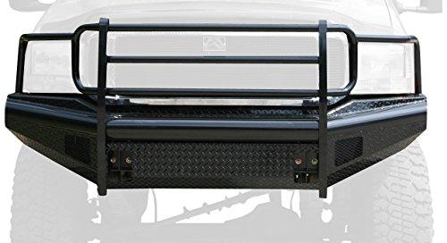 Fab Fours FS99-S1660-1 Black Steel Front Ranch Bumper -