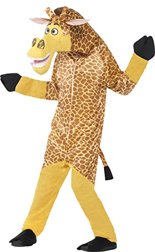 Giraffe Costume The Melman (Smiffy's Children's Madagascar Melman The Giraffe Costume, All-in-one)