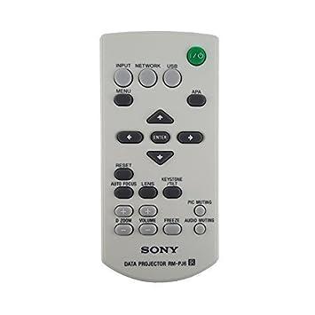 Sony Originales VPL-EX7 Proyector Mando A Distancia: Amazon.es ...