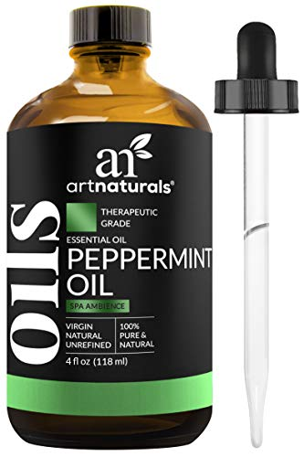 ArtNaturals Peppermint Essential Oil 4 oz -100% Pure and Natural Premium Therapeutic Grade Mentha Peperita - Best Fresh Scent for Home & Work, Perfect for Aromatherapy, Relaxation, Skin Therapy by ArtNaturals (Image #8)