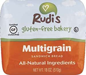 Amazon.com: Rudis Gluten Free Multigrain Sandwich Bread ...