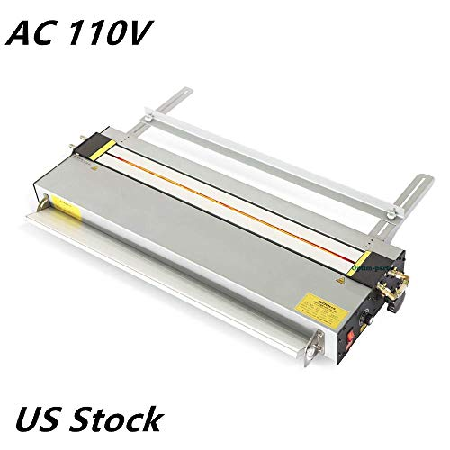 AC110V 27inch Upgraded Acrylic Plastic Bending Machine Lightbox PVC Bender Heater (Infrared Ray Calibration, Angle and Length Adjuster,0.04in-0.4in Thickness) US STOCK from Unknown