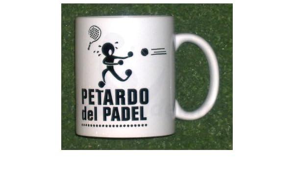 Gopadel - Taza petardo del pádel: Amazon.es: Deportes y aire libre