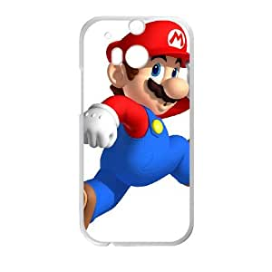 HTC One M8 Cell Phone Case White Super Smash Bros Mario D5K3ZR