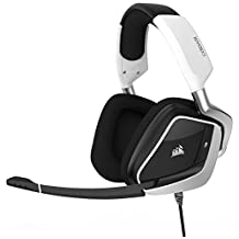 Corsair Void PRO RGB USB Gaming Headset with Dolby Headphone 7.1 Surround Sound for PC - White
