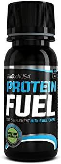 PROTEIN FUEL, liquid 50ml Kirsche 12 * 50ml - Flüssiges Protein - BiotechUSA