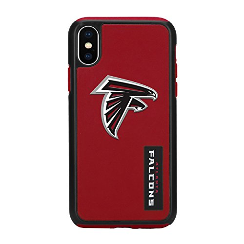Forever Collectibles iPhone X Dual Hybrid Impact Licensed Case - NFL Atlanta Falcons (Fan Atlanta Falcons Series)