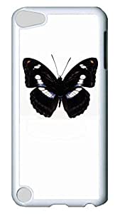 Brian114 Case, iPod Touch 5 Case, iPod Touch 5th Case Cover, Butterfly 11 Retro Protective Hard PC Back Case for iPod Touch 5 ( white ) hjbrhga1544