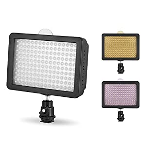 Chromo Inc® LED Dimmable Ultra High Power Panel Digital Camera / Camcorder Video Light, LED Light for Canon, Nikon, Pentax, Panasonic,SONY, Samsung and Olympus Digital SLR Cameras