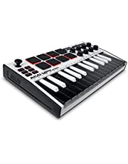 AKAI Professional MPK Mini MK3-25 Teclas USB MIDI Controlador de teclado con 8 almohadillas retroiluminadas