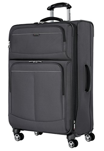 Ricardo Beverly Hills Mar Vista 28-Inch 4 Wheel Expandable Upright, Graphite, One Size by Ricardo Beverly Hills