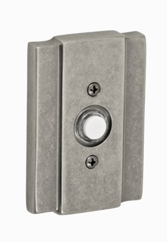 Fusion Hardware BEL-E2-ATP Bordeaux Collection Blacksmith Doorbell, Antique Pewter, 1-Pack