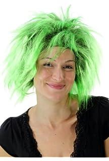 WIG ME UP - Peluca punki, aos 80, Glam, carnaval, fiesta disfraces
