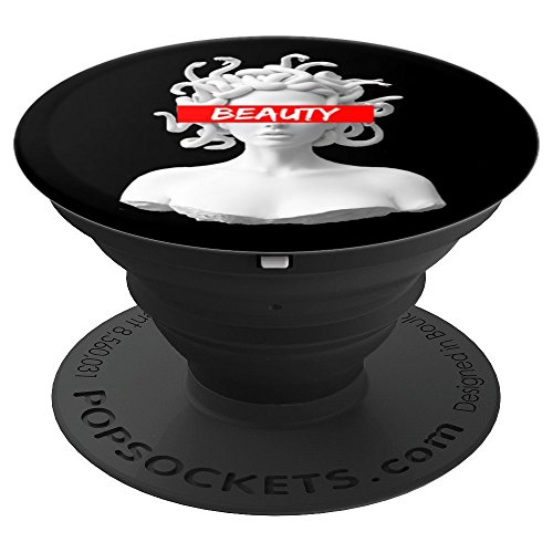 Greek Medusa Red Box Beauty - PopSockets Grip and Stand for Phones and Tablets