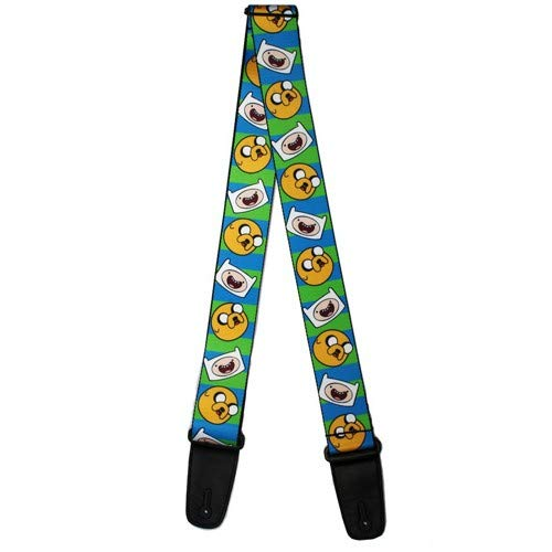Buckle-Down Jake Finn Poses Stacked, 2 Inches Wide-Down Guitar Strap- Jake & Finn 2