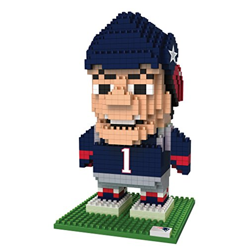 Nfl Mascot - FOCO NFL New England Patriots BRXLZ 3D Blocks Set - Mascot, Team Color, One Size