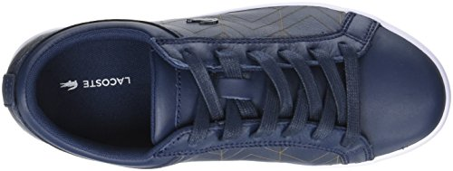 Nvy Lace Lacoste Donna Blu Straightset Sneaker wXxqA1p5