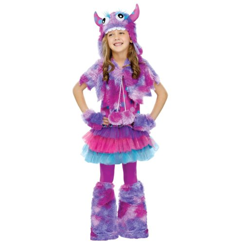 Monster Inc Girl (Polka Dot Monster Kids Costume)