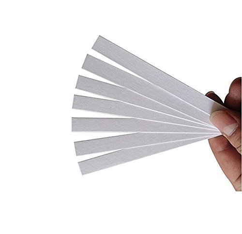 100PCS White 15cm x 0.7cm/6inch x 0.28inch Disposable Perfume Test Strips Aromatherapy Fragrance Essential Oil Test Paper/Perfume Blotter/Fragrance Smelling Strips (Fragrance Testing Strips)