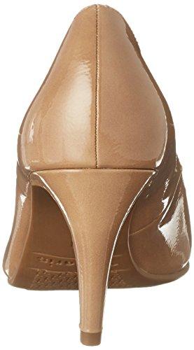 22447 Escarpins Nude Beige Femme Patent Tamaris wpzUq1px