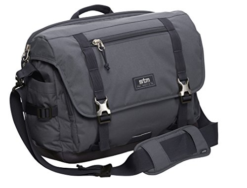 STM Trust, Laptop Shoulder Bag for 15-Inch Laptop - Graphite (stm-112-034P-16)