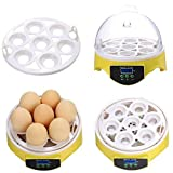 Fipper 7 Eggs Digital Automatic Poultry Hatcher