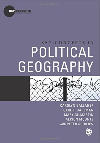Key Concepts in Political Geography (Key Concepts in Human Geography) by Carolyn Gallaher (7-May-2009) Paperback