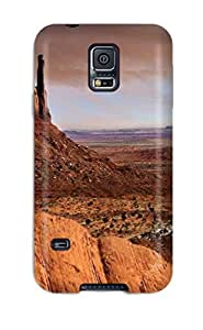 Premium Protection Grand Canyon Case Cover For Galaxy S5- Retail Packaging wangjiang maoyi