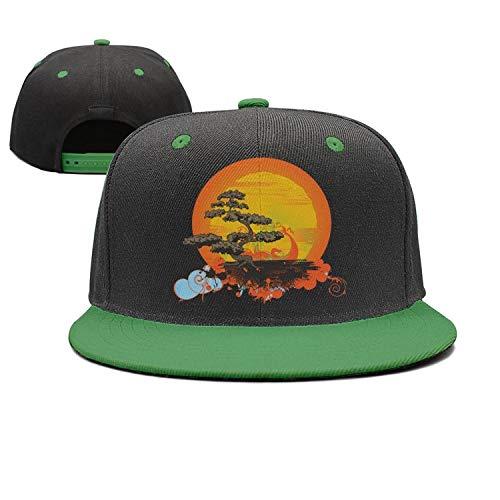 (Yohafke Bonsai Tree Female Baseball Cap Plain Adjustable Denim Jean Hat Multicolor78)