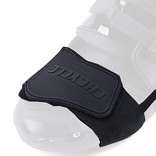 CHCYCLE Gear Shifter Accessories for Shoes Motorcycle Boots Protector (Black) (Motorcycle Shoe Protector)