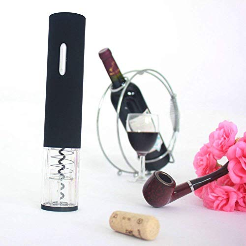 Electric Wine Opener,Sweet decorations Electric Wine Bottle Opener with Removable Free Foil Cutter, Elegant -