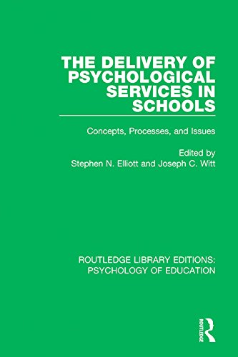 The Delivery of Psychological Services in
