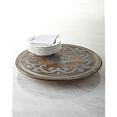 GG Collection 22 in. Round Lazy Susan