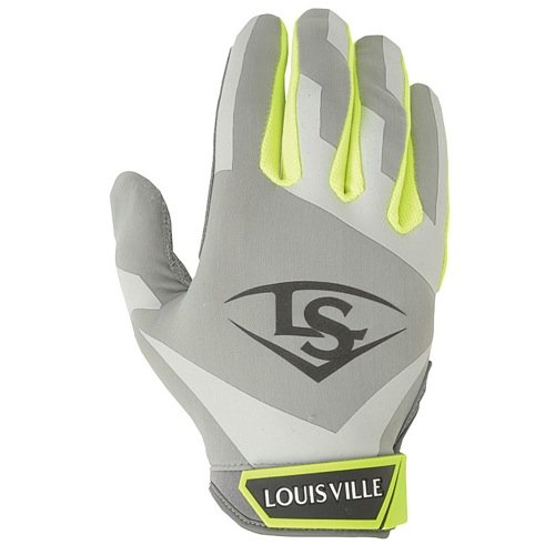 Louisville Slugger Women's Xeno Batting Gloves, Hyper, X-Large