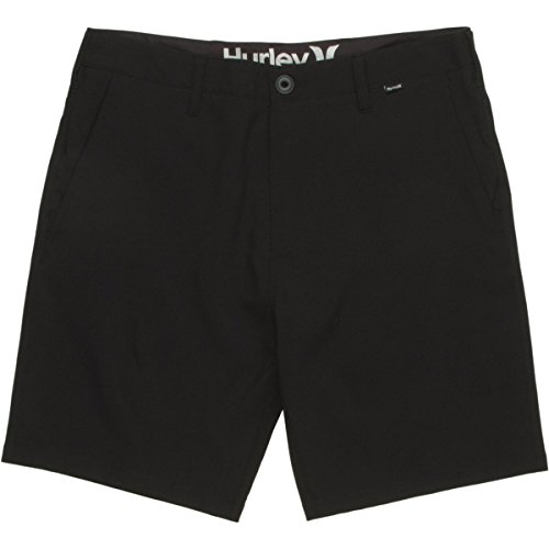Hurley Phantom Boardwalk 18.5in Short - Men's Black, 33 (Hurley Black Belt)