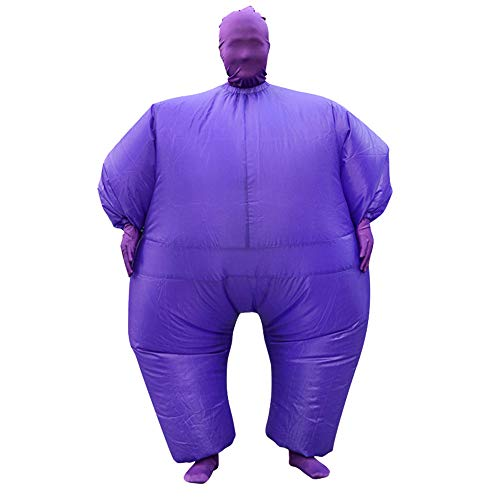 Purple Inflatable Funny Costumes - SIREN SUE Adult Inflatable Full Body