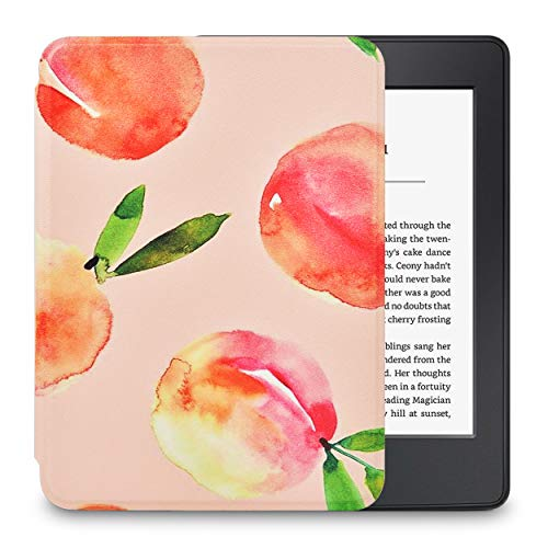 LuvCase Case for Kindle Paperwhite (10th Generation, 2018 Releases), Thinnest Lightest Smart Premium PU Leather Shell…