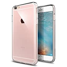 Spigen Ultra Hybrid iPhone 6S Plus Case / iPhone 6 Plus Case with Air Cushion Technology Drop Protection Clear Case for Apple iPhone 6S Plus / iPhone 6 Plus - Crystal Clear