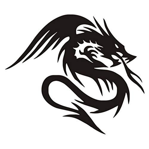 Dragón chino pegatinas de pared mural en leyenda etiqueta de la ...