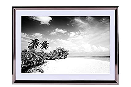 Amazon.com: maldives ocean beach-Scenery - Art Print Silvery Wood ...