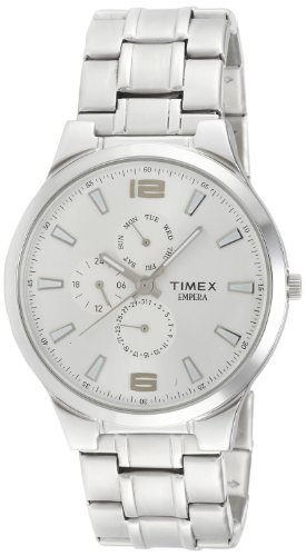 Timex-Empera-Analog-Silver-Dial-Mens-Watch